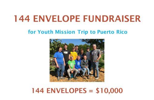 144 Envelope Fundraiser