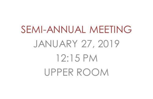 Semi-Annual Meeting