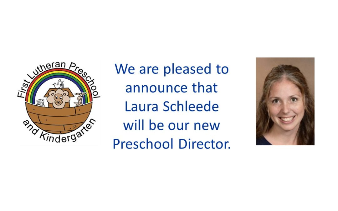 Preschool Director Announced