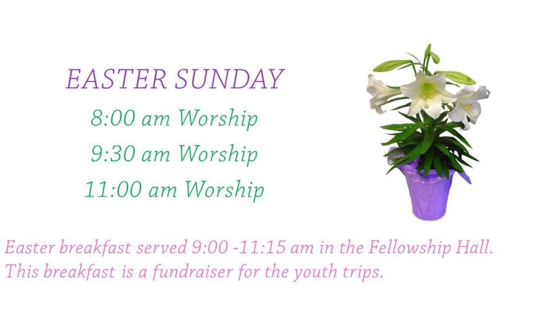 Easter Worship 2019