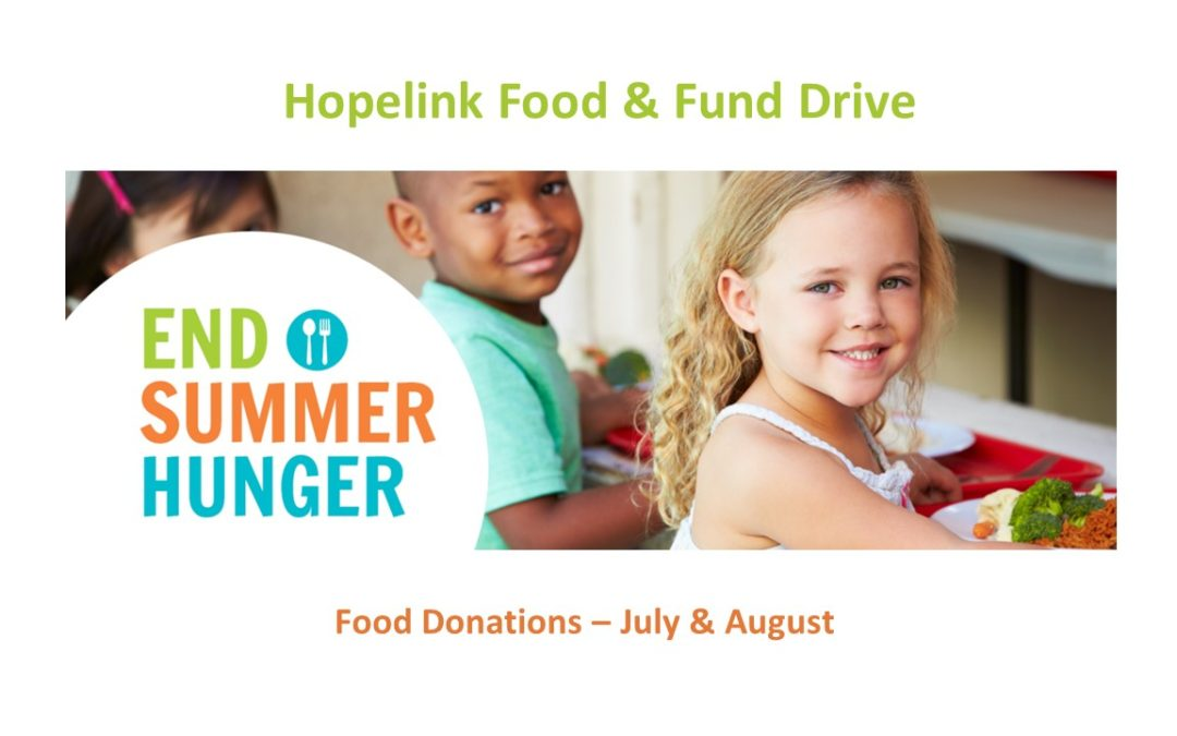 End Summer Hunger