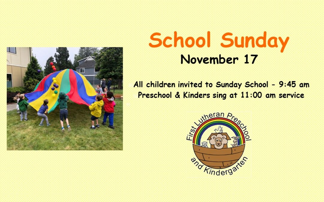 School Celebration Sunday