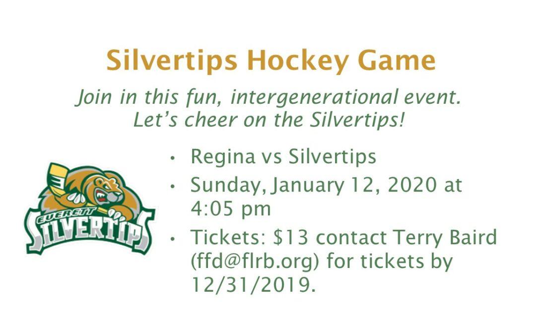 Silvertips Hockey Game